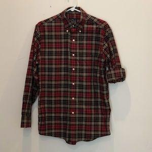 Jos. A. Bank Men's Small Red Plaid Shirt